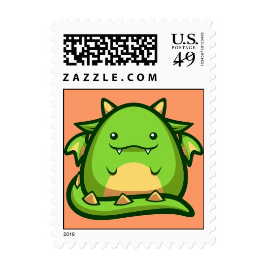 Chubs Dragon Stamp