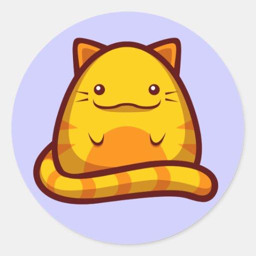 Chubs Kitty Sticker