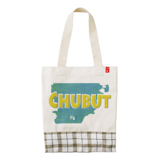 Chubut Zazzle HEART Tote Bag