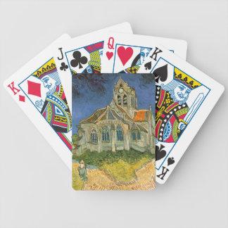 Chuch en Auvers-sur-Oise de Vincent van Gogh Baraja Cartas De Poker