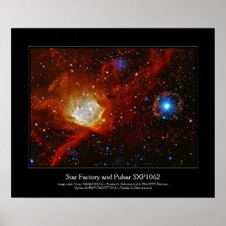 Chuchería celestial - imagen del espacio SXP1062 Póster