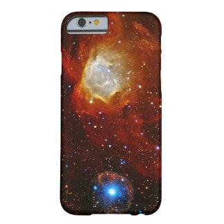 Chuchería celestial - nebulosa N90 y pulsar Funda De iPhone 6 Barely There