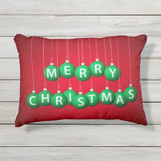 Chuchería del navidad cojín de exterior