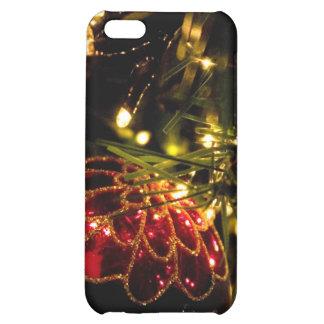 Chuchería del navidad con las luces de hadas