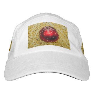 Chuchería roja del navidad gorra de alto rendimiento