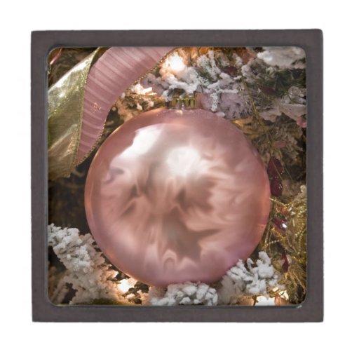chuchería, suavemente rosa cajas de joyas de calidad