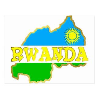 Chucherías 2 de Rwanda Tarjetas Postales