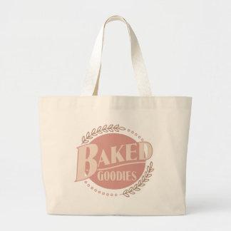 Chucherías cocidas - panadería de la hornada del bolsa tela grande