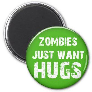 chucherías de Halloween de los zombis Imán Redondo 5 Cm