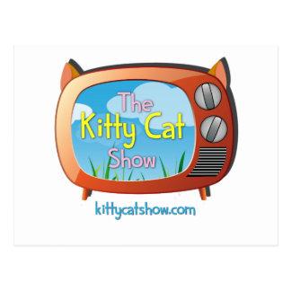 ¡Chucherías de la demostración del gato del gatito Postales