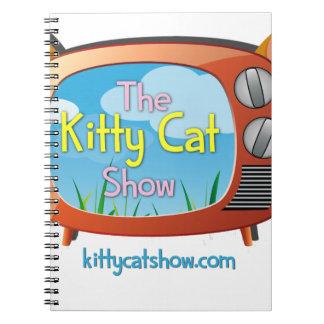¡Chucherías de la demostración del gato del gatito Spiral Notebooks