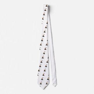 Chucherías del amor del gato de Halloween Corbatas