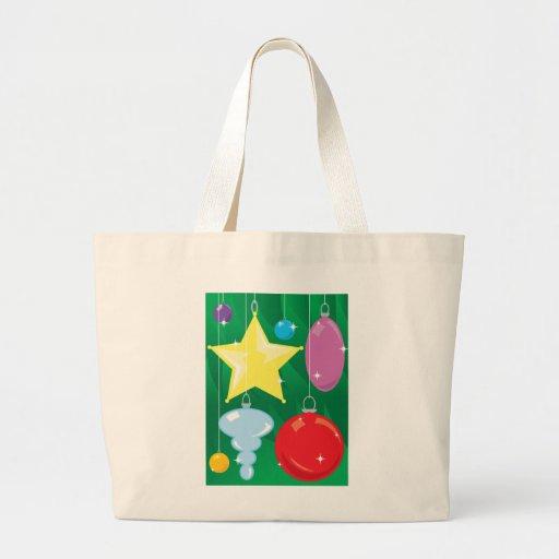Chucherías del árbol de navidad bolsa de mano