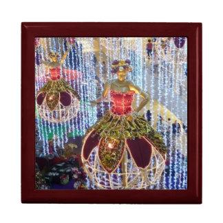 Chucherías del manniquin del navidad caja de joyas