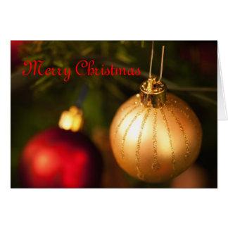 Chucherías del navidad felicitación