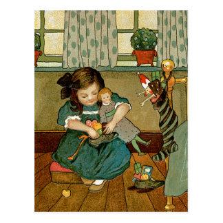 Chucherías del navidad tarjetas postales