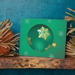 Chucherías imperecederas del navidad placas de plastico
