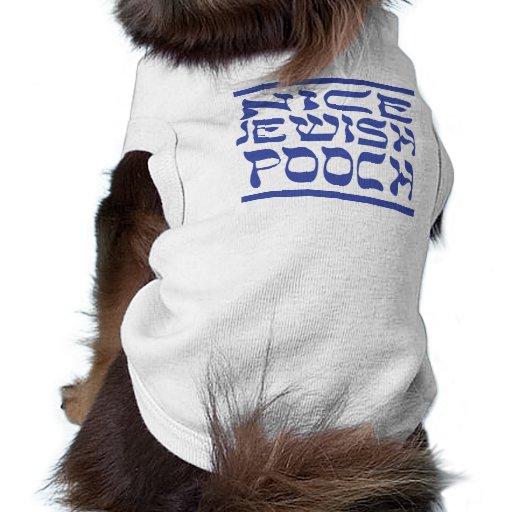 Chucho judío agradable ropa de perros