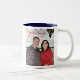 Chuck and Wendy Wedding Mug