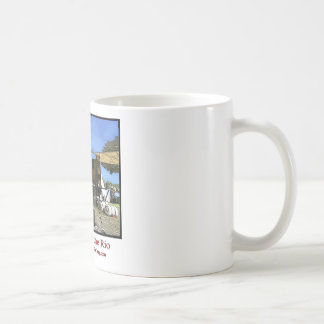 """""""Chuck by the Rio"""" by Toyah Coffee Mugs"""