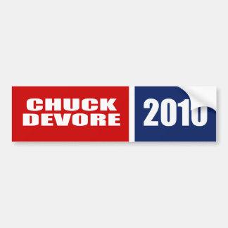 CHUCK DEVORE FOR SENATE BUMPER STICKER