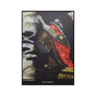 Chuck Middlekauff Wrapped Canvas Print