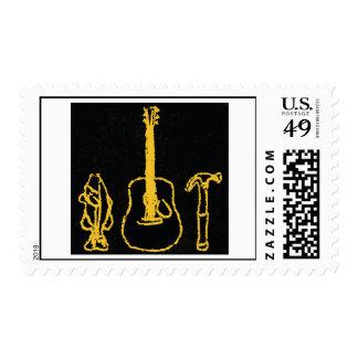 "Chuck Ragan ""The Holy Trinity Stamp"" Postage"