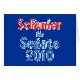 Chuck Schumer for Senate 2010 Star Design Greeting Cards