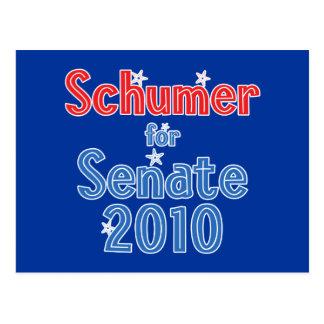 Chuck Schumer for Senate 2010 Star Design Post Card