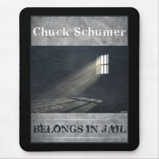 Chuck Schumer Mouse Pad