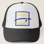 Chuck Spears - Gold and Purple Trucker Hat
