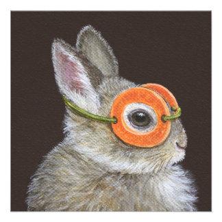 Chuck the bunny invitation