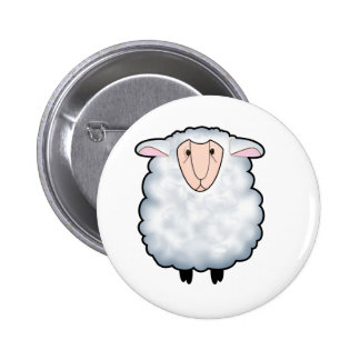 Chuck the Sheep 2 Inch Round Button