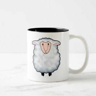 Chuck the Sheep Coffee Mugs