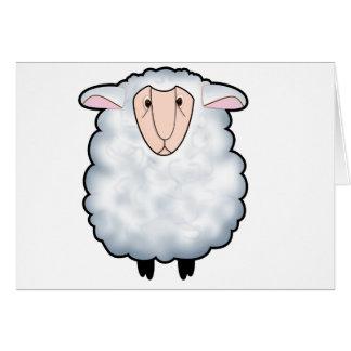 Chuck the Sheep Greeting Card