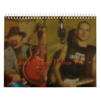 Chuck Veer 2008 Calander Calendar