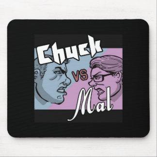 Chuck vs Mal Logo Mouse Pad