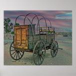 Chuck Wagon Poster/Print