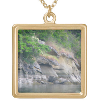 Chuckanut Bay Gold Plated Necklace