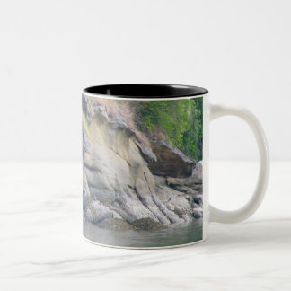 Chuckanut Bay Two-Tone Coffee Mug