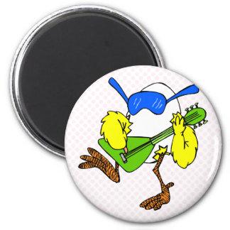 Chuckie Chicken 2 Inch Round Magnet