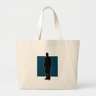 Chucks and a Trenchcoat Part Two Large Tote Bag