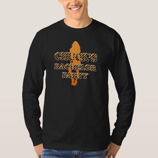 Chuck's Bachelor Party T-Shirt