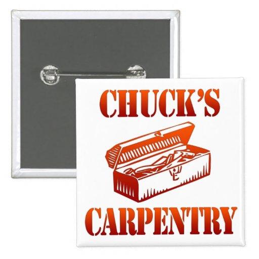 Chuck's Carpentry 2 Inch Square Button
