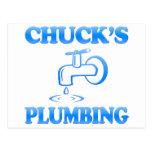 Chuck's Plumbing Post Card