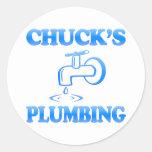 Chuck's Plumbing Sticker