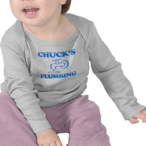 Chuck's Plumbing Tee Shirt