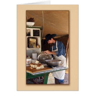 Chuckwagon Cook  Card