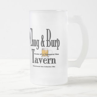 Chug & Burp Tavern Beer Mug