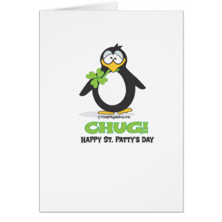 Chug! Happy St. Patty's Day Greeting Cards